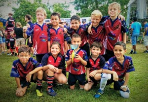 Komodos Under 7s Victory in Singapore