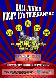 New Bali Rugby Juniors 10s Tournament Jakarta Komodos Rugby Club Indonesia