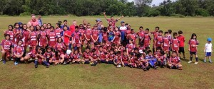 Jakarta Komdos Rugby Junior Club Indonesia Rugby Development Clay Uyen