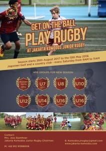 Jakarta Komodos Junior Rugby Club Launch 2017 -2018 Season