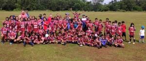 Jakarta Komdos Rugby Junior Club Indonesia Rugby Development Clay Uyen